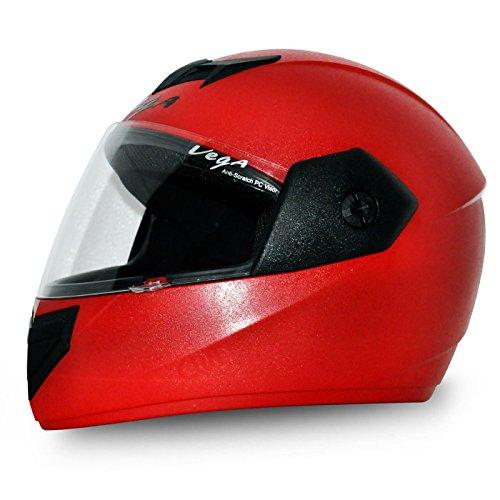 Vega Cliff Air CLF-AR-LR_M Full Face Helmet (Red, M)