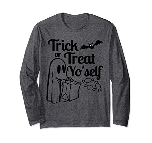 Unisex Treat Yo'self, Trick or Treat Yourself Halloween