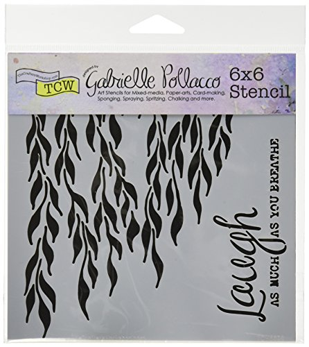 Workshop Crafters - CRAFTERS WORKSHOP Moving Vines Template, 6 by 6