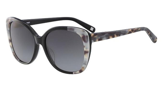 Gafas de sol NINE WEST NW607S 005 BLACK LEOPARD: Amazon.es ...