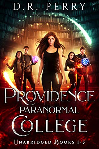 Providence Paranormal College (Books 1-5): Bearly Awake, Fangs for the Memories, Of Wolf and Peace, Dragon my Heart Around, Djinn and Bear It (Providence Paranormal College Boxed Sets Book 1)