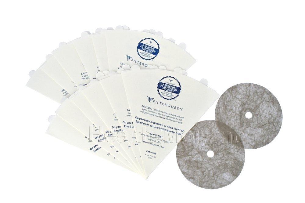 FilterQueen Majestic Cellulose Pre-Filter Cones, 12 Pack Health-Mor Inc 4404008200