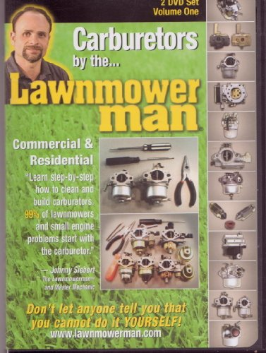 Carburetors by the Lawnmower Man, 2 DVD Set Volume One