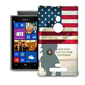 Phone Case For Nokia Lumia 925 - Navy Seals USA Hardshell Cover