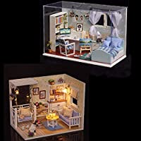 New DIY Dollhouse Kit Heart Of Ocean And Kitten Diary Gift Decor Collection T-005 H-013 By KTOY