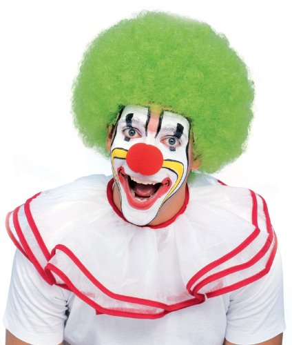Rubie's Deluxe Clown Wig, Green, One (Green Clown Outfit)