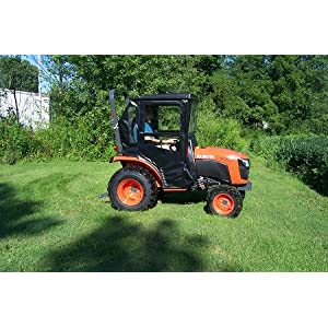 Hardtop Cab Enclosure for Kubota B2301 and B2601 Tractors