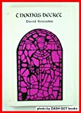Thomas Becket, Knowles, David, 0804707669