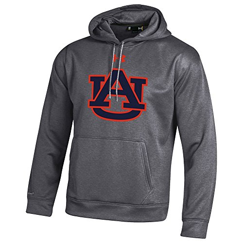 Auburn Tigers Performance Hooded Charcoal - XXL