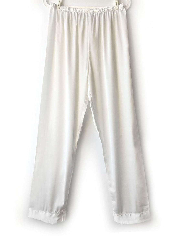 Wantschun Women s Satin Silk Sleepwear Pyjamas Lomg Pants Nightwear  Loungewear Pajamas Bottom Trousers e5c9766f3