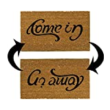 """Rubber-Cal """"Come In Welcome Doormat Coir Doormat, 18 x 30-Inch"""