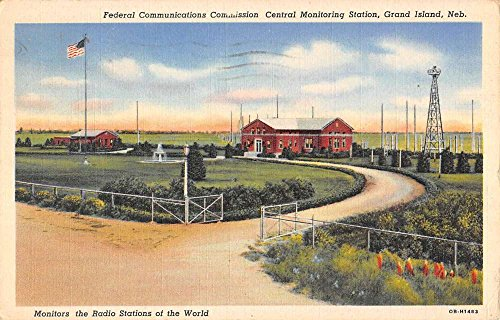 Grand Island Nebraska Central Monitoring Station Antique