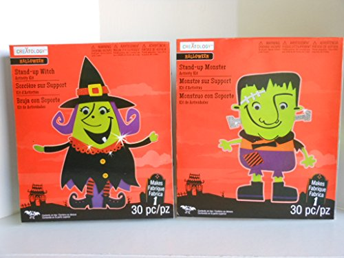 (Halloween Stand up Monster & Witch Foamie Activity Foam)