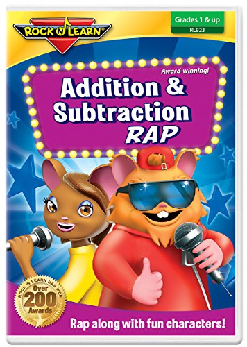 Addition & Subtraction Rap DVD by Rock N Learn