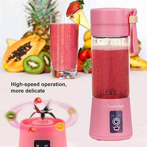 Licuadora personal, vaso exprimidor portátil, mezclador de frutas ...