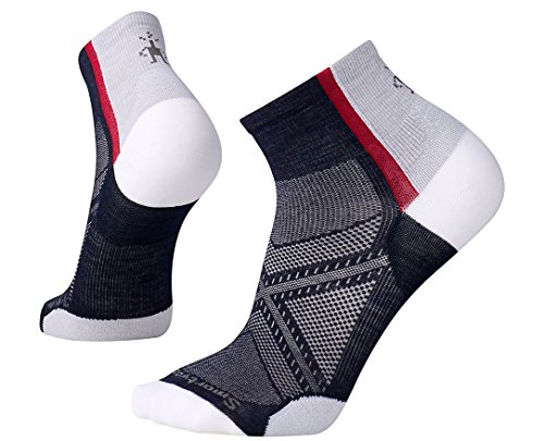 Light Mini Outdoor Socks (SmartWool Men's PhD Cycle Ultra Light Mini Socks (Deep Navy) Medium)