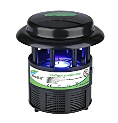 Hausbell Nontoxic Mosquito Trap Non-Chemical Flies Killer Mosquito Inhaler Auto On and Off With Light Sensor