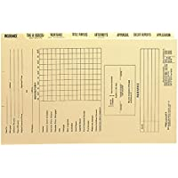 Smead Mortgage Folder Printed Replacement Divider Sets, 14-3/8 x 9-Inches, Manila, 8 per Set (78278)