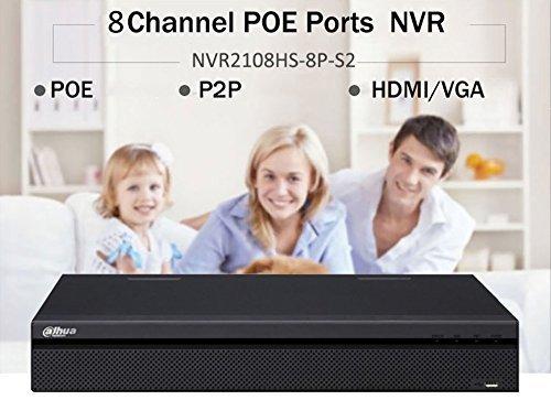 Dahua NVR NVR2108HS-8P-S2 6MP 8Channel Network Video