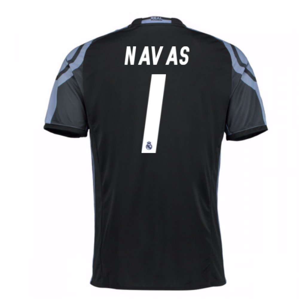 2016-17 Real Madrid 3rd Shirt (Navas 1) Kids B07D8HQLSB Medium Boys 28-30