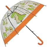 Paraguas Infantil 66cm Automatico Transparente DiseÑo 4 Surtido A Elegir 1
