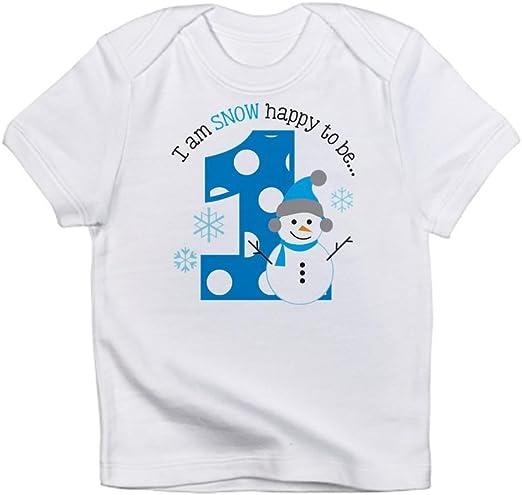 Amazon.com: CafePress – playera de muñeco de nieve primer ...
