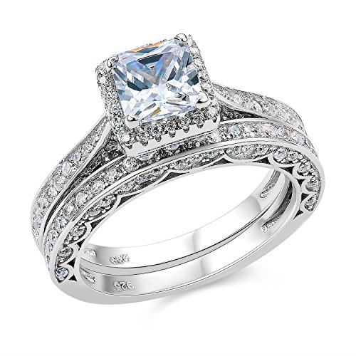 Newshe Princess Sterling Wedding Engagement product image
