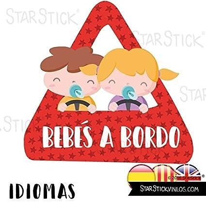 StarStick - Bebés a bordo (niño y niña) - Adhesivo para ...