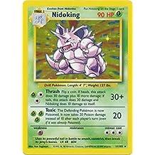 Pokemon - Nidoking (11) - Base Set - Holofoil