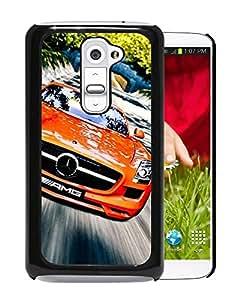 Orange Mercedes Sls Durable High Quality LG G2 Phone Case