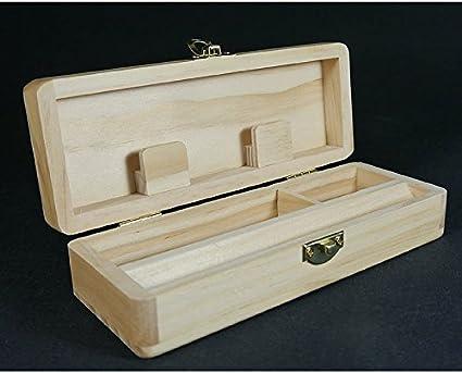 www.deocultacion.com Rolling Box Pequeña - Caja de Madera para ...