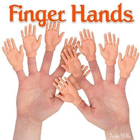 Finger Hands 5 Pieces Bulk -
