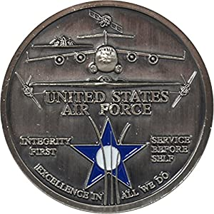 Lackland Air Force Base Challenge Coin by Military Productions