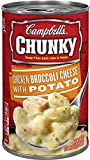 chicken and broccoli - Campbell's Chunky Chicken Broccoli Cheese with Potato Soup, 18.8-Ounce (Pack of 6)