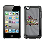 ice cream case for ipod 4 - STPlus Ice Cream Truck Funny Hard Cover Case for Apple iPod Touch 4