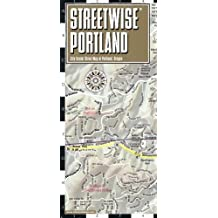 Streetwise Portland Map - Laminated City Center Street Map of Portland, Oregon (Michelin Streetwise Maps)