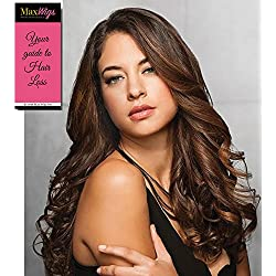 """23"""" Wavy Clip In Extensions Color R6 DARK CHOCOLATE - Hairdo Wigs 1 Piece System Women's Soft Waves Heat Friendly Synthetic Added Length Bundle with MaxWigs Hairloss Booklet"""