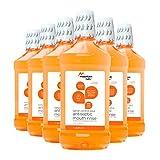 Mountain Falls Tartar Control Plus Antiseptic Mouthwash, Citrus, 33.79 Fluid Ounce (Pack of 6)