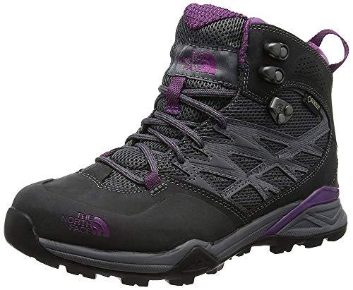 The tex Gore De dark Hike Femme Hedgehog Grey wood Randonnée Shadow Face Chaussures North Mid Gris Violet Hautes 1gYr1X