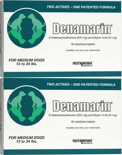 Nutramax Denamarin Tablets for Medium Dogs 60ct (2 x 30ct)