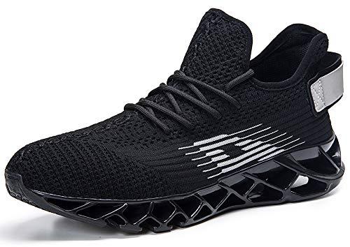 Jogging Sneaker Pour Entraînement Femme Compétition Respirantes Plein Shoes Gris Homme De Trail Chaussures Sport Athlétique Gym Air Fitness Basket Course Running Noir v0Cw7aq
