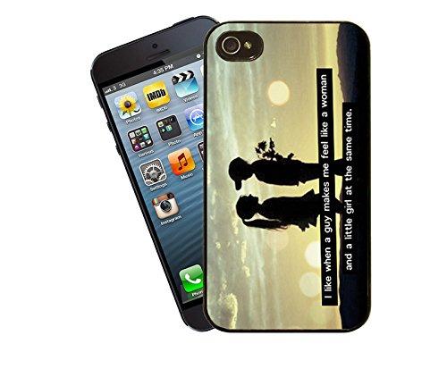 Citations et motivants mots 004phone case–cette couverture s'adapte Apple Modèle iPhone 4/4S–de idées cadeau de Eclipse