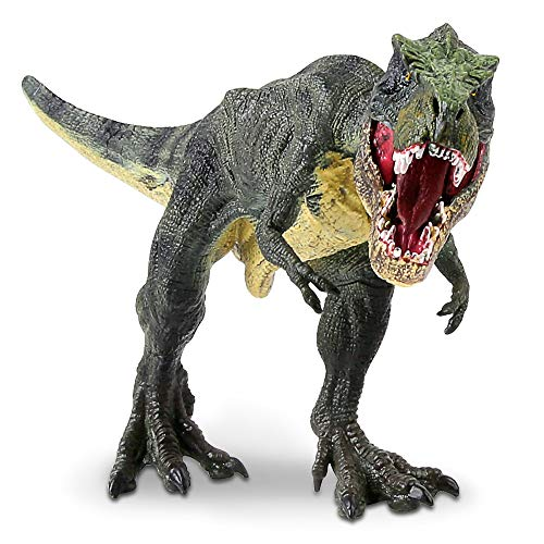 (Tyrannosaurus Rex Dinosaur Toy, Movable Lower Jaw Realistic Design T-Rex Dino Action Figure Gifts for 2 3 4 5 6 7 Year Old Boys Girls Kids)