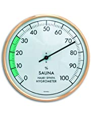 TFA Dostmann Analoge sauna-hygrometer, luchtvochtigheid, hittebestendig, ideaal voor de sauna.