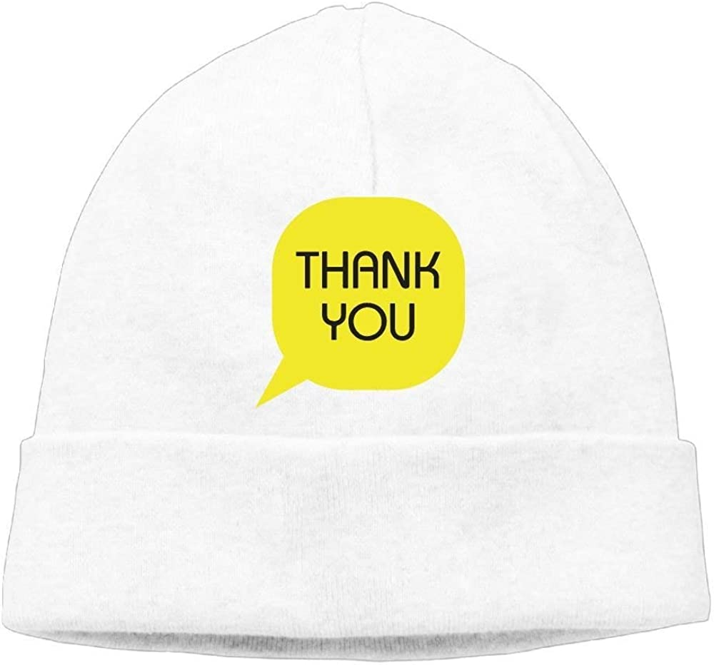 boy Unisex Thank You Card Colorful Classic Fashion Daily Beanie Hat Skull Cap Go Ahead
