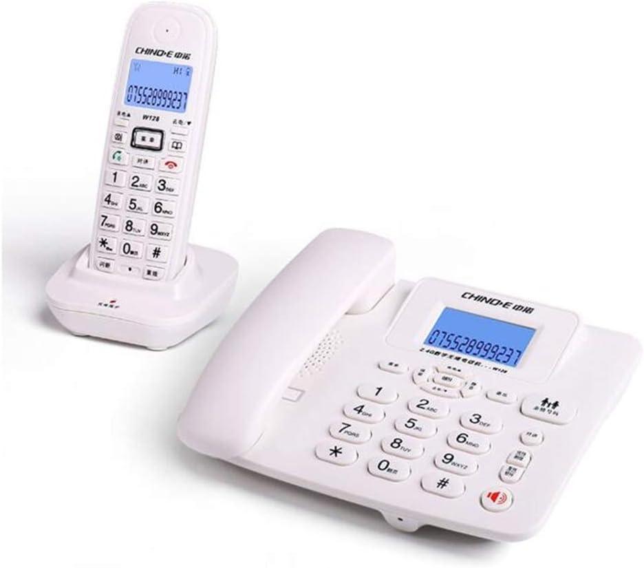 HQCC Teléfono, teléfono inalámbrico Digital, teléfono Fijo inalámbrico Inteligente Fijo (Color : Negro, Tamaño : D): Amazon.es: Electrónica