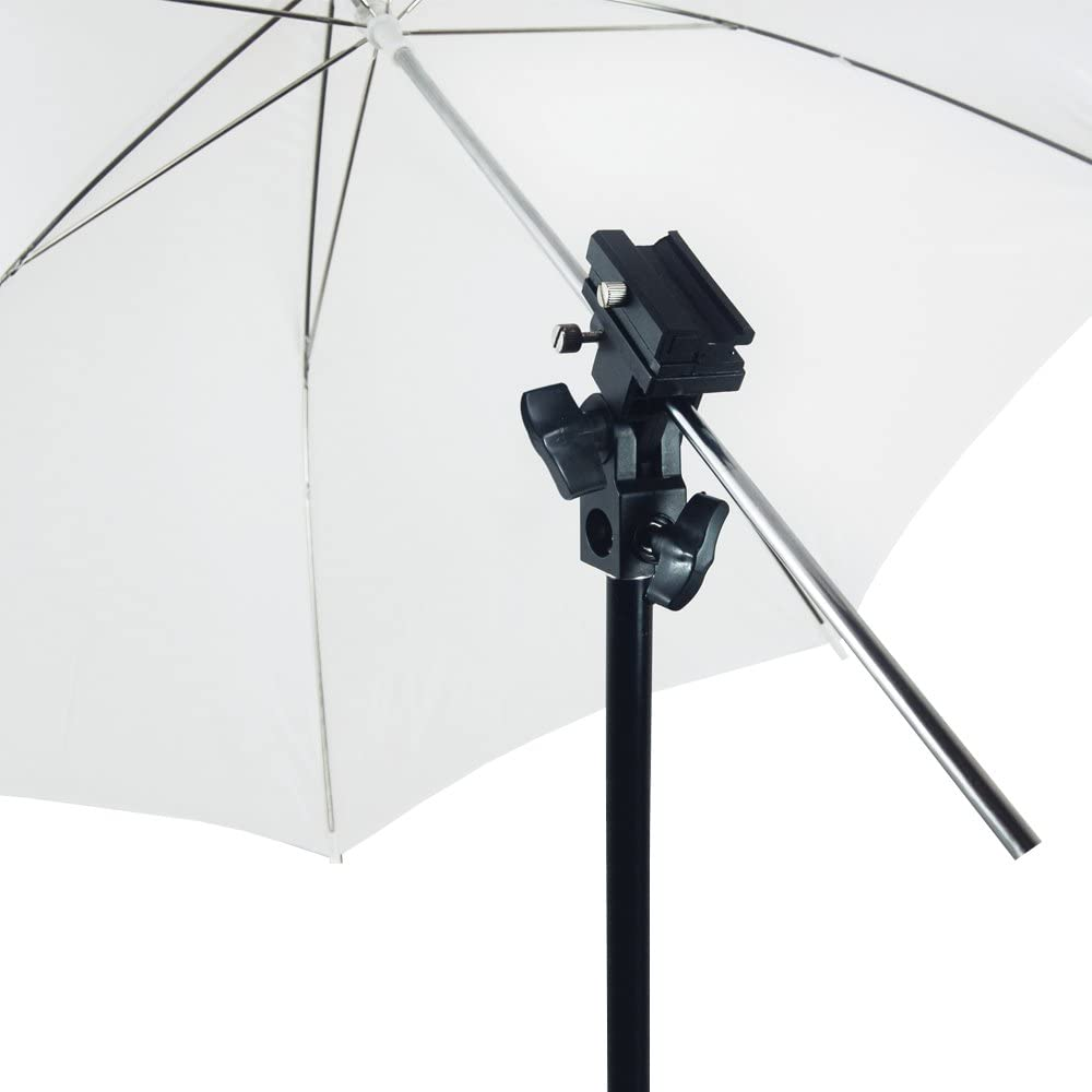 AGG2278/_V2 Photo Portrait Studio Day Light Umbrella Lighting Kit 46 Inch White Umbrella Reflector Lighting Kit 2PCS Translucent Soft Even Spread Light for Photo Studio LimoStudio