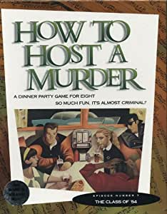 Decipher How to Host a Murder: The Class of '54