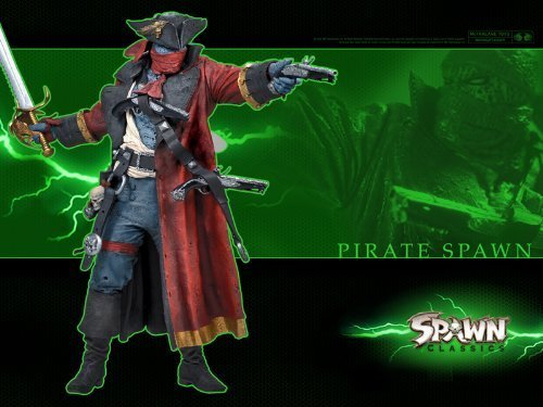 (PIRATE SPAWN - Spawn Series 34: SPAWN CLASSICS Ultra Action Figure)