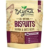 Purina Beyond All Natural Biscuits Salmon & Oats Recipe Dog Snack, 9-Ounce Pouch